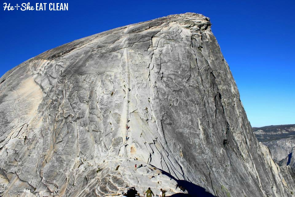 Climbing Half Dome in Yosemite National Park | He and She Eat Clean