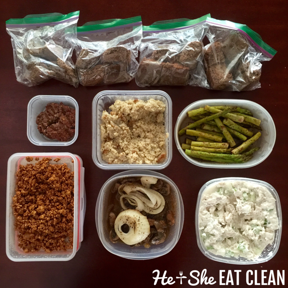 Food Prep + Chicago Trip — He & She Eat Clean