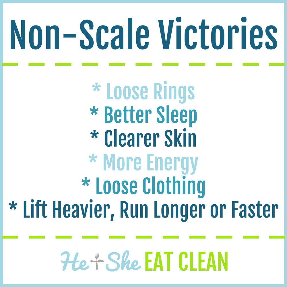 Non-Scale Victories | He and She Eat Clean