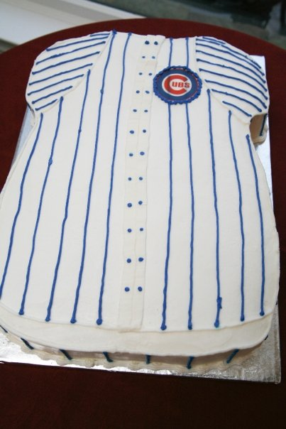 Cubs Groom Cake