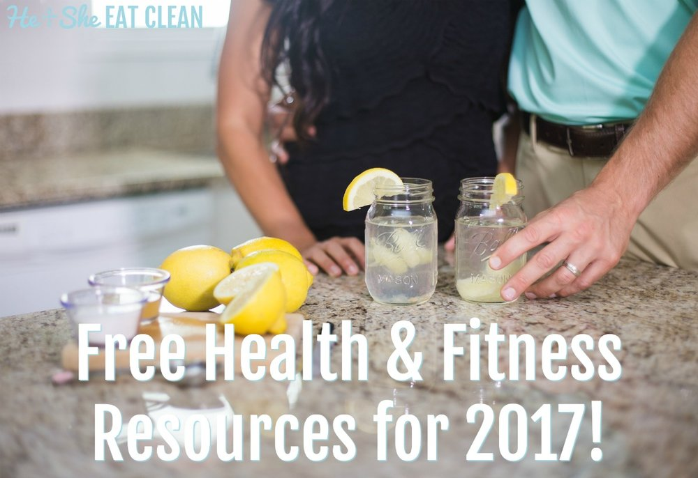 Free Health & Fitness Resources for 2017!