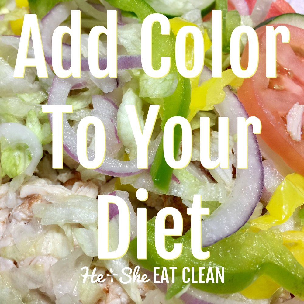 Add color to your diet