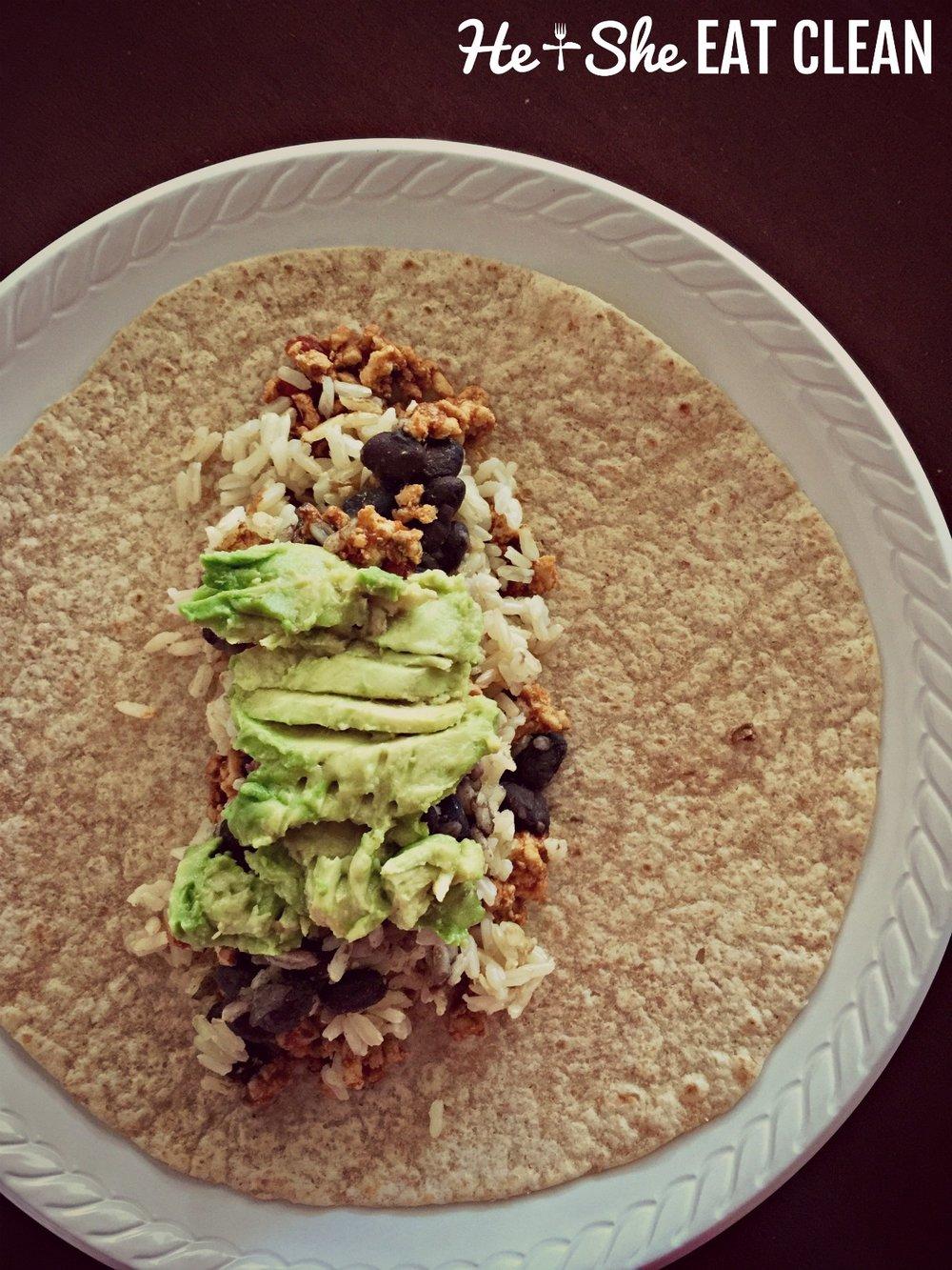 Homemade Burrito