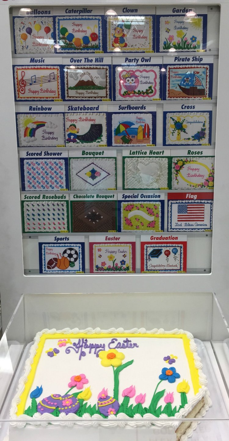 costco sheet cake designs
