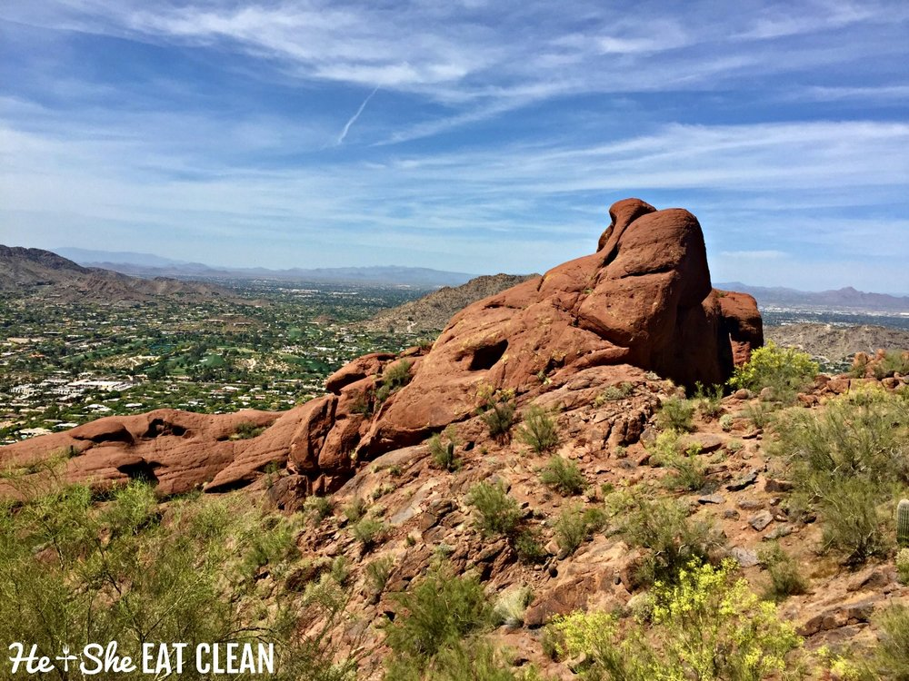 Hiking Camelback Mountain in Scottsdale, Arizona