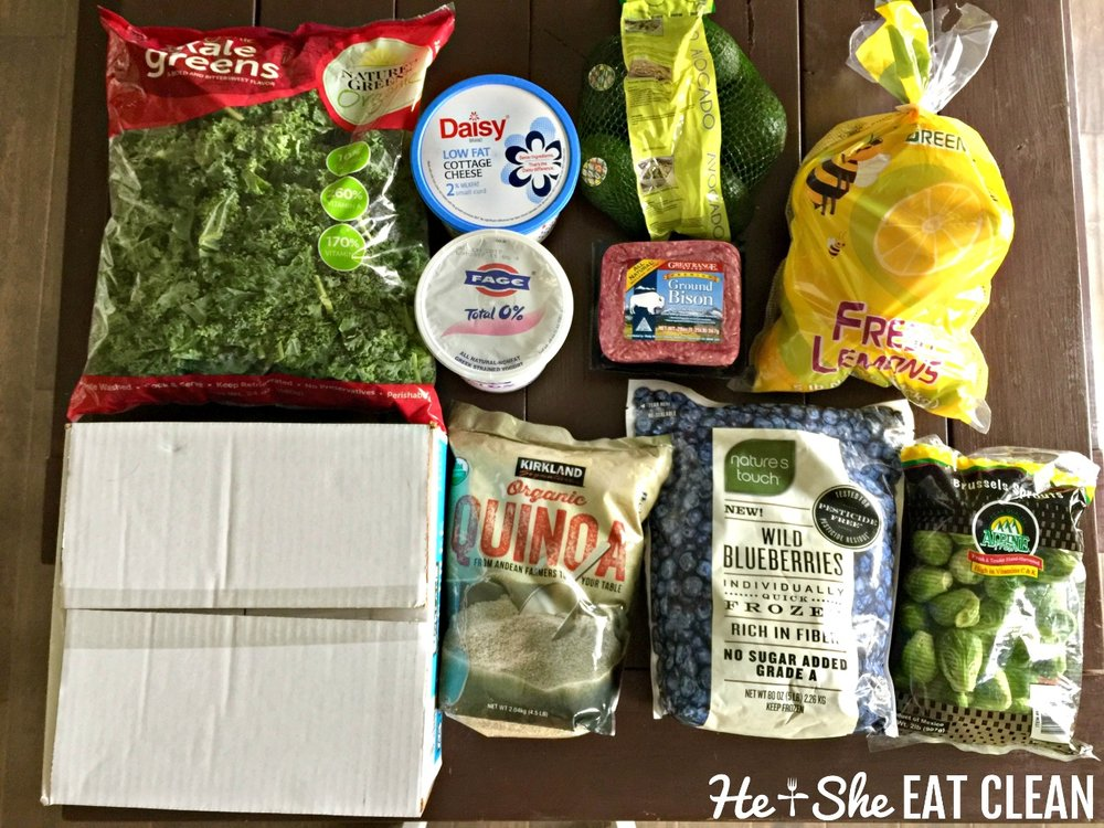 Clean Eating Grocery Shopping at Costco | He and She Eat Clean