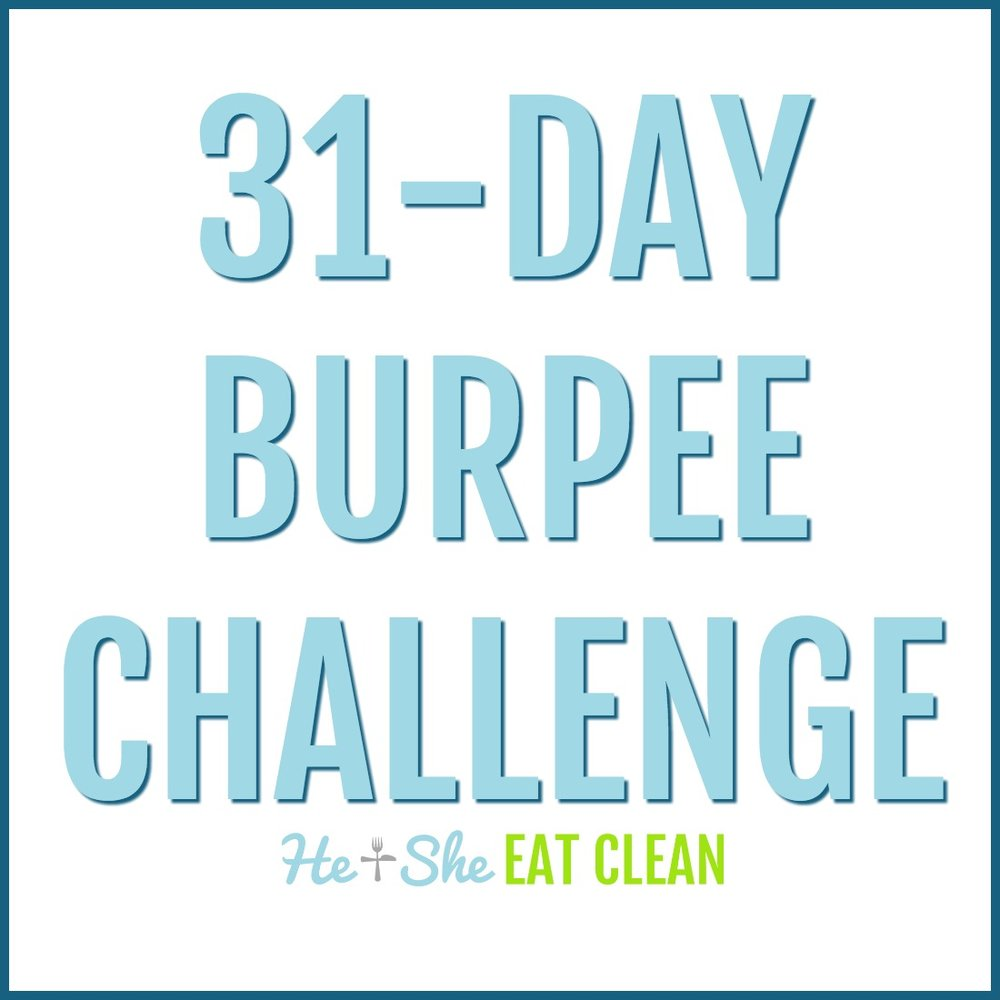 31-Day Burpee Challenge | He and She Eat Clean