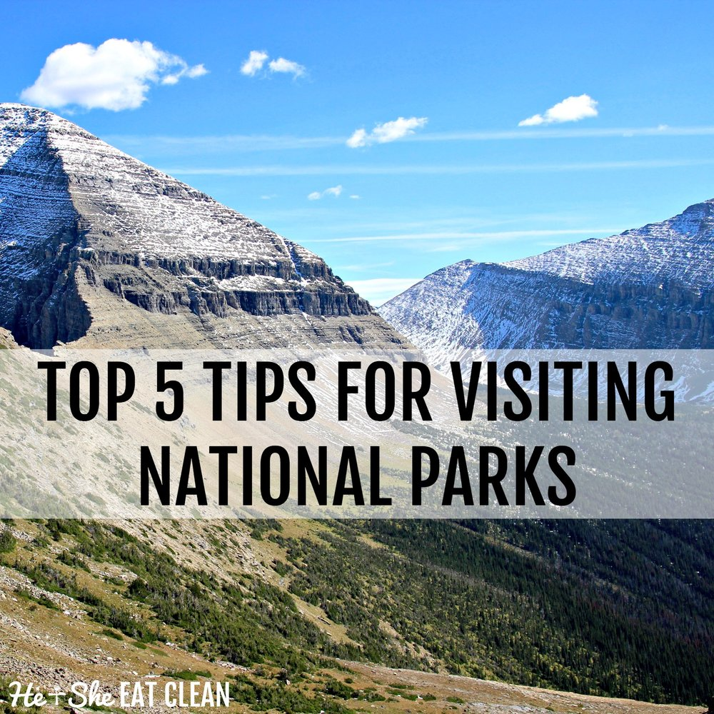 Top 5 Tips for Visiting National Parks | He and She Eat Clean