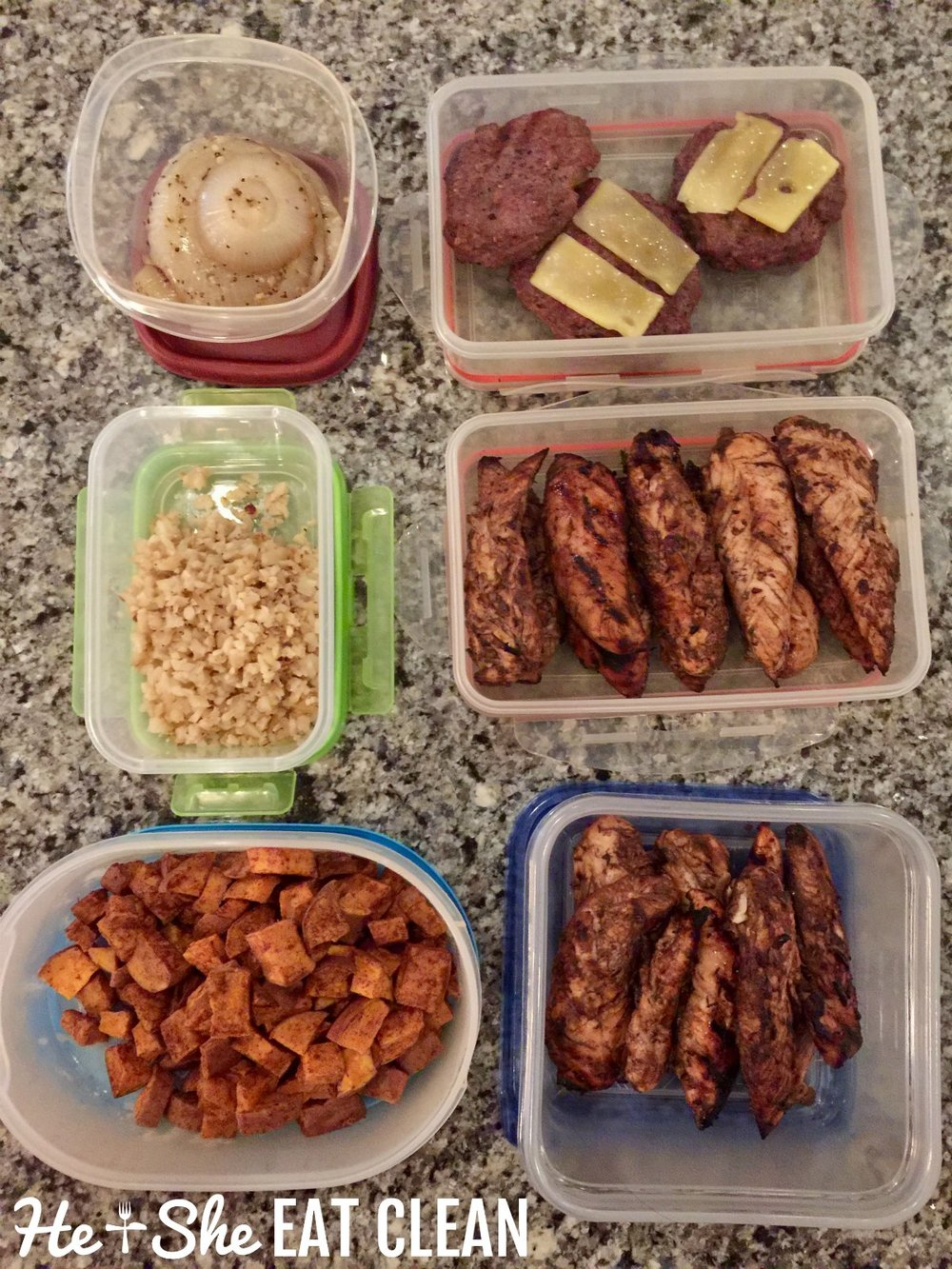 Clean Eating Food Prep