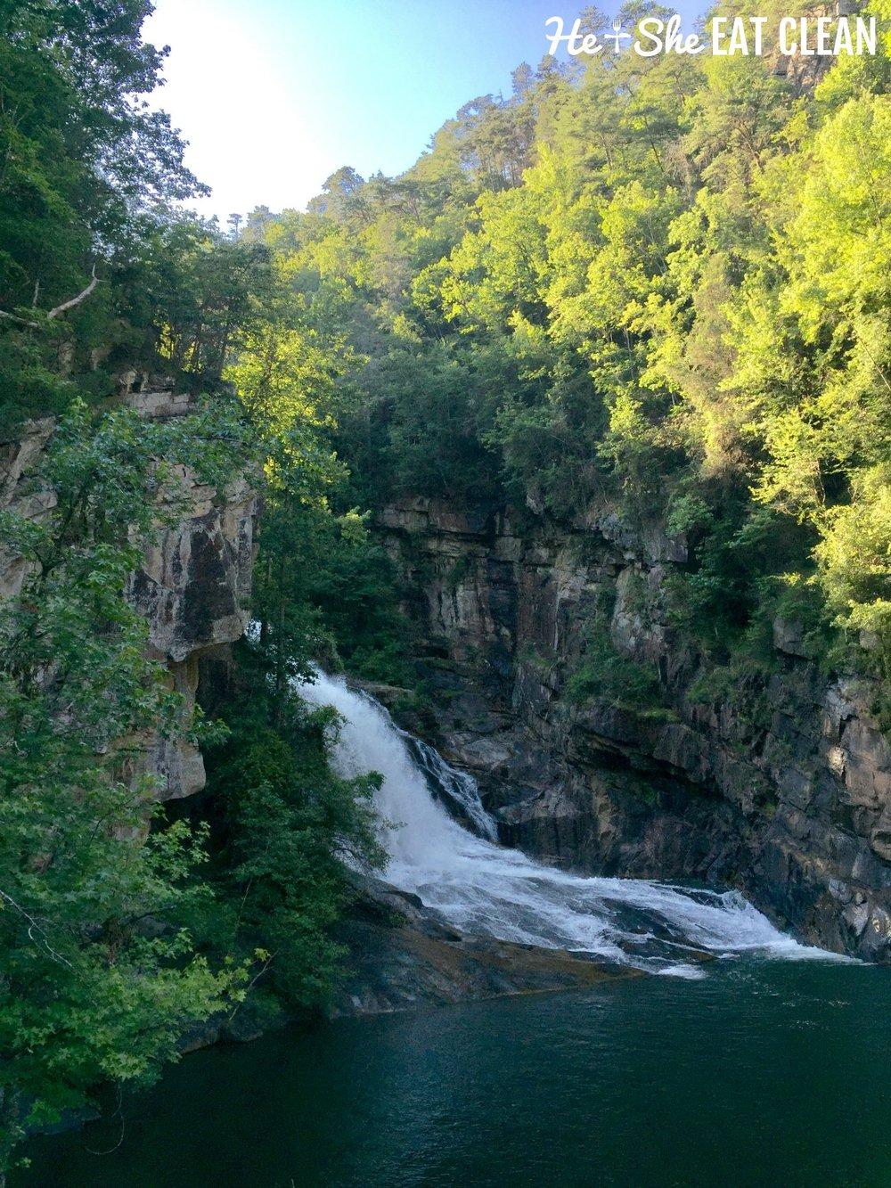 Hiking Tallulah Gorge State Park in Tallulah Falls, GA