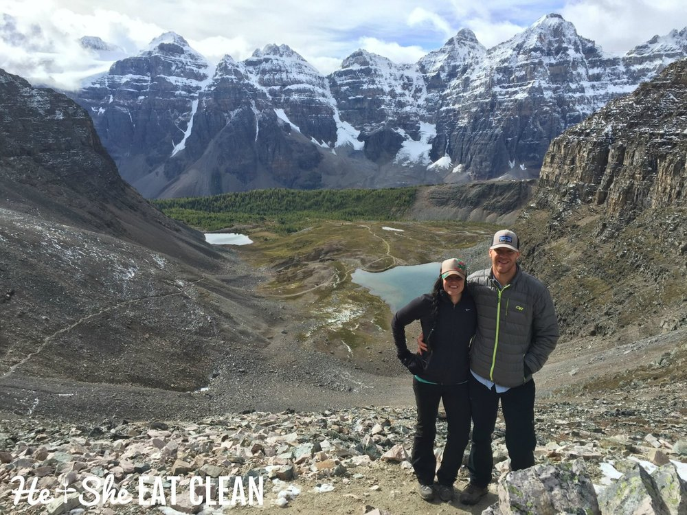 Hiking Moraine Lake/Larch Valley/Sentinel Pass in Banff National Park, Canada