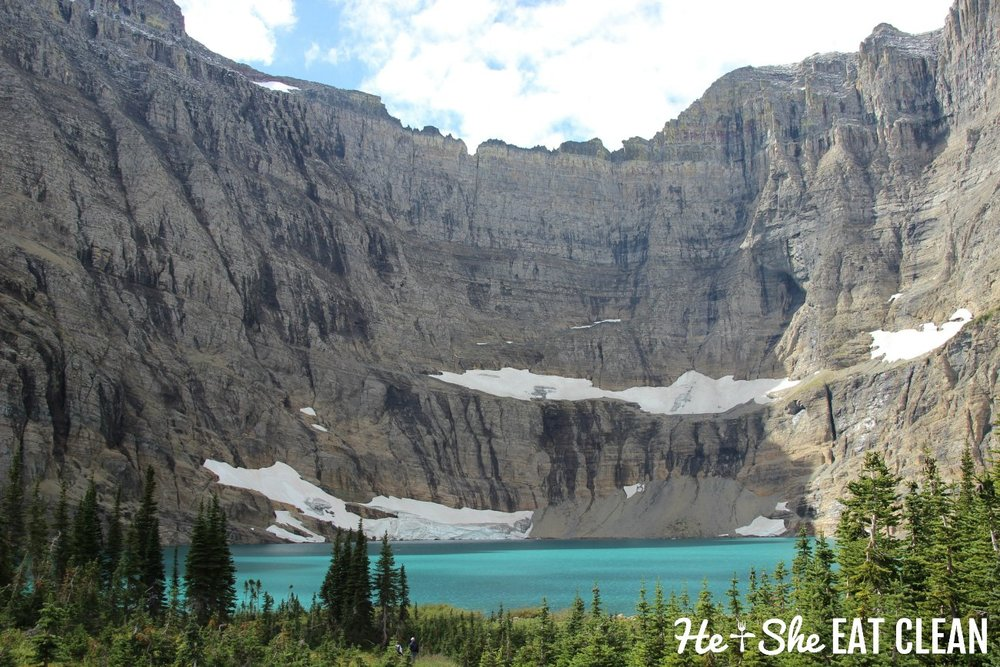 Hiking Ptarmigan Tunnel and Iceberg Lake in Glacier National Park, Montana