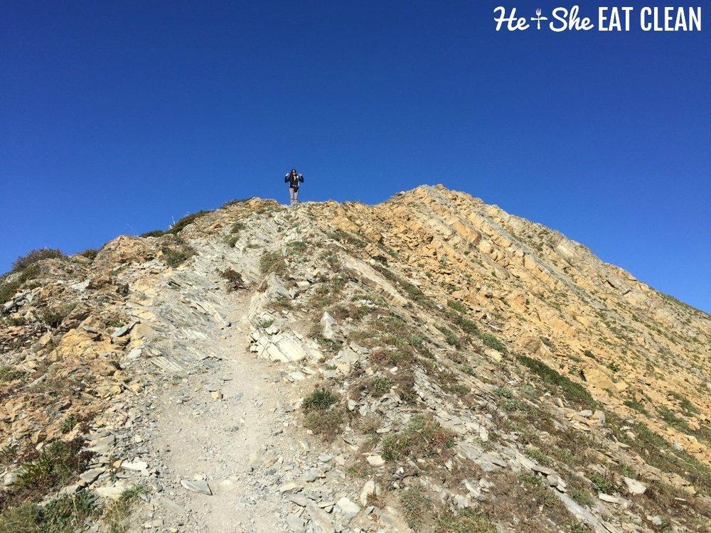 Hiking Mount Aeneas in the Jewel Basin, Montana