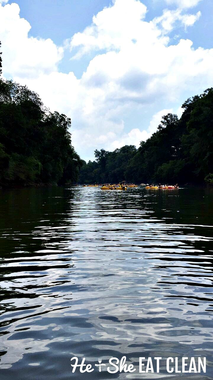 Tubing the Chattahoochee River in Georgia