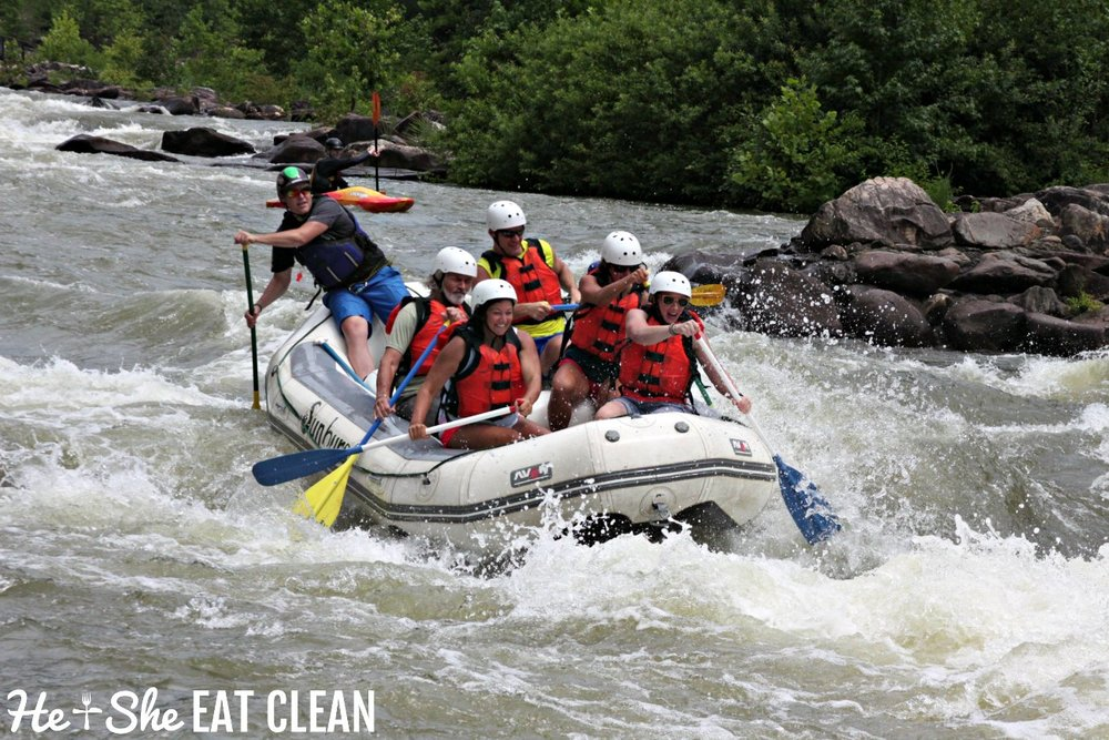 White Water Rafting on the Upper Ocoee River