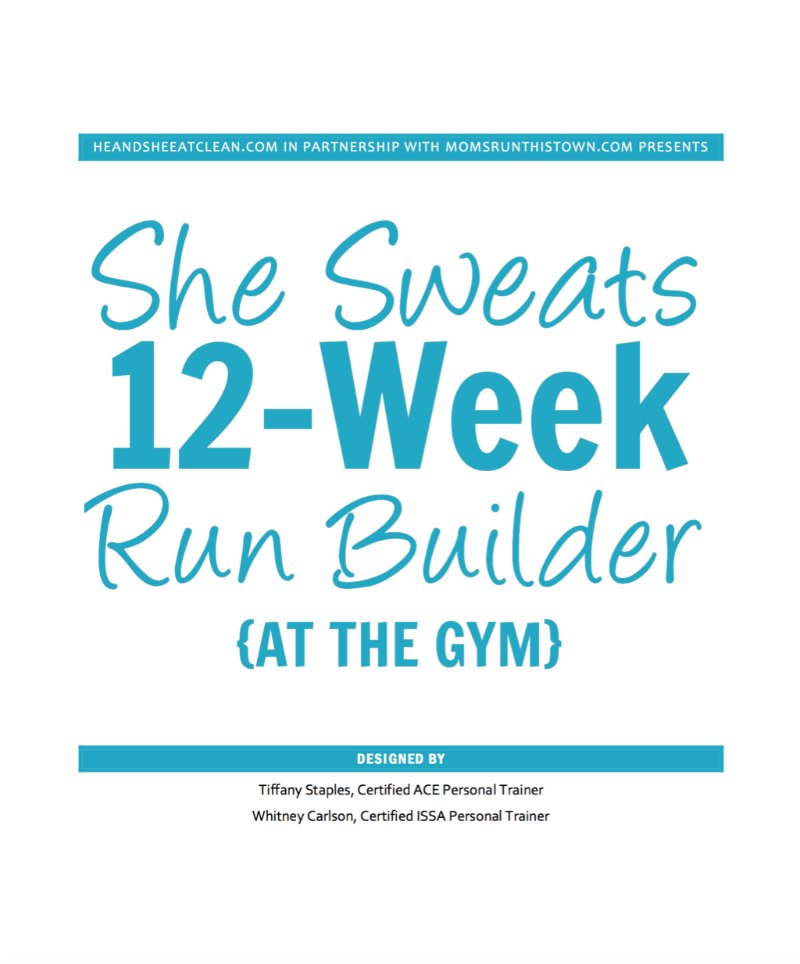 She Sweats 12-Week Run Builder