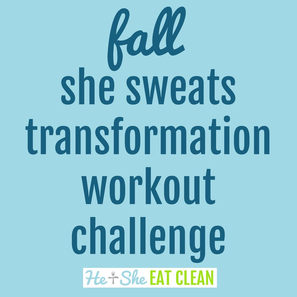 Fall She Sweats Transformation Challenge