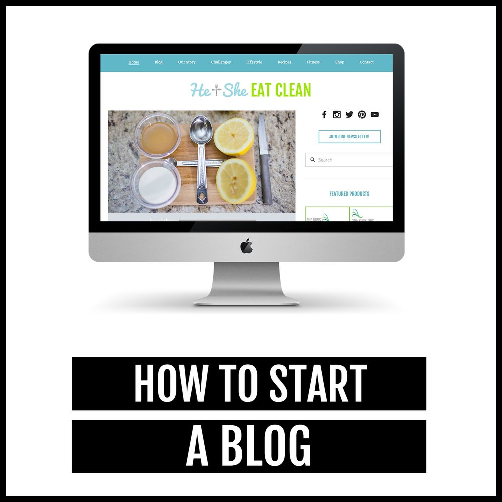 3 Easy Steps to Start a Blog!