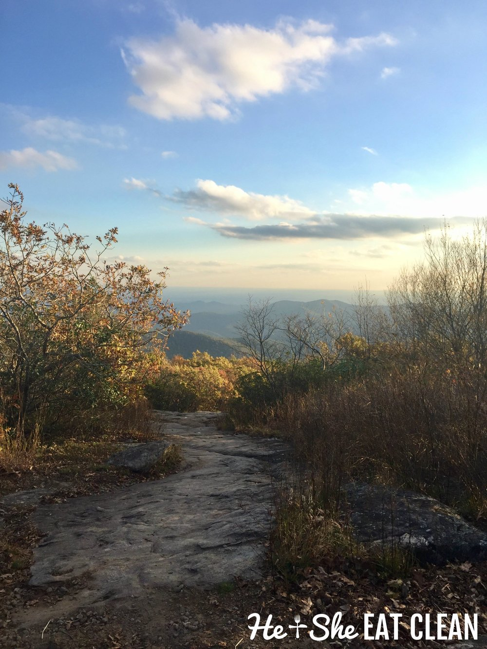 Hiking Blood Mountain on the Appalachian Trail in Georgia