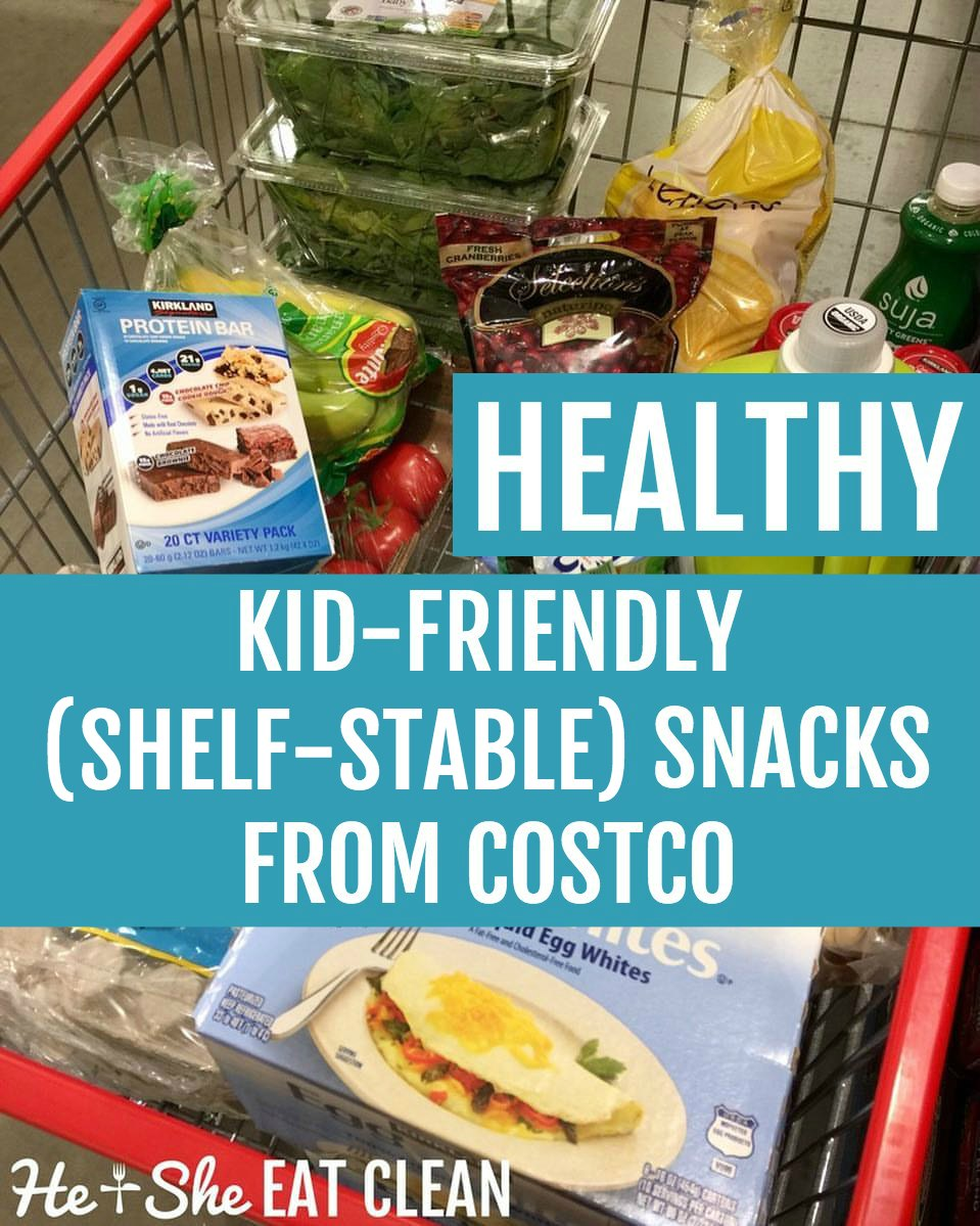 Healthy {Shelf-Stable} Kid-Friendly Snacks from Costco