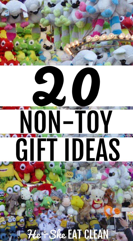 20 Non-Toy Gift Ideas