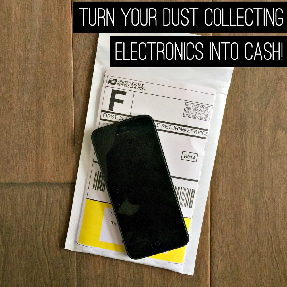 Turn Your Dust Collecting Electronics Into Cash!