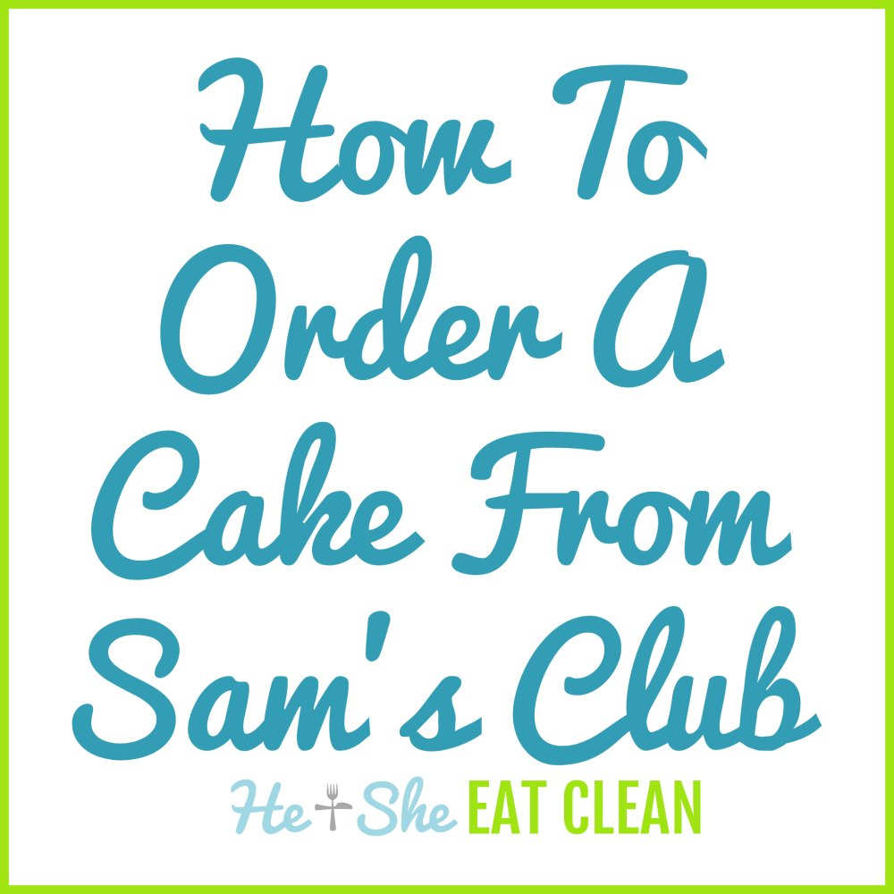 How to Order a Cake from Sam's Club