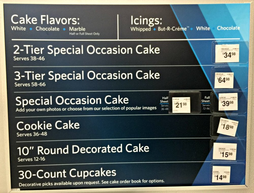 How to Order a Cake from Sam's Club - prices