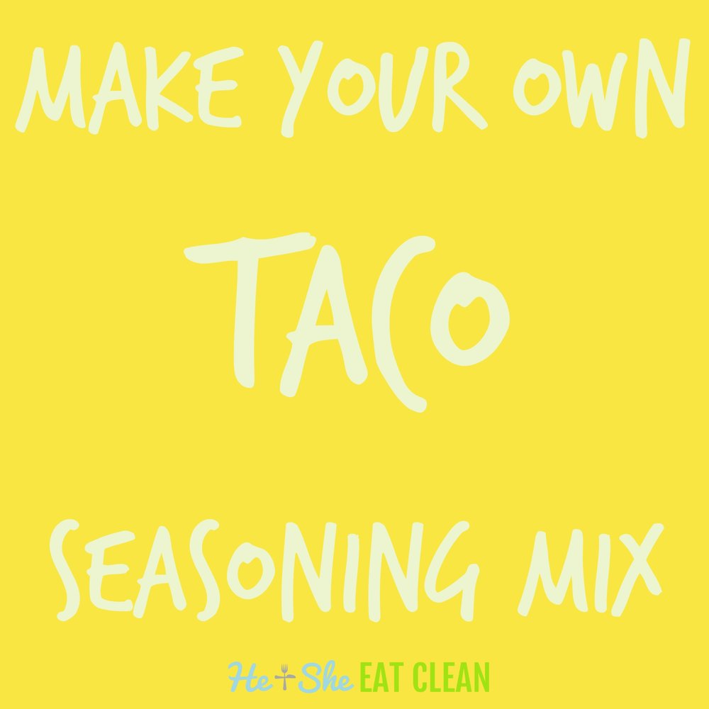 Do It Yourself Taco Seasoning Mix