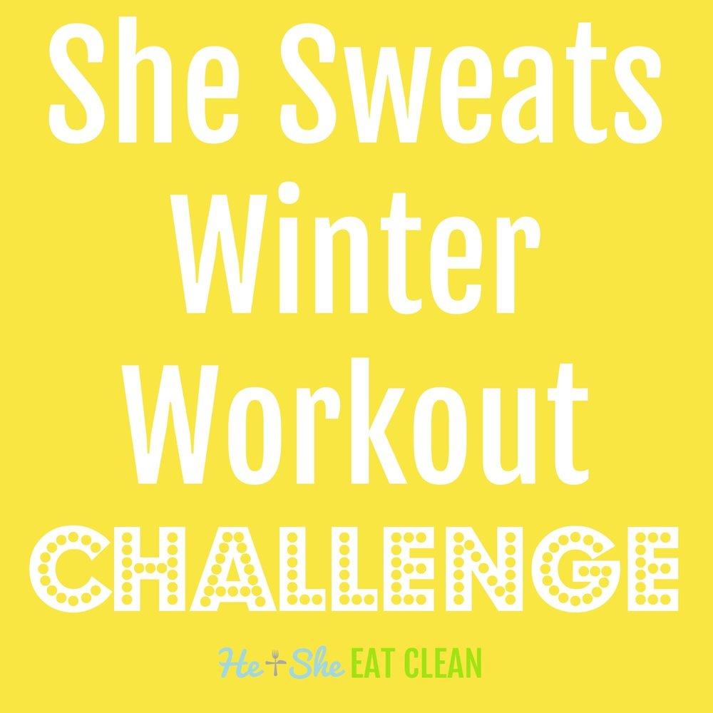 She Sweats Winter Workout Challenge