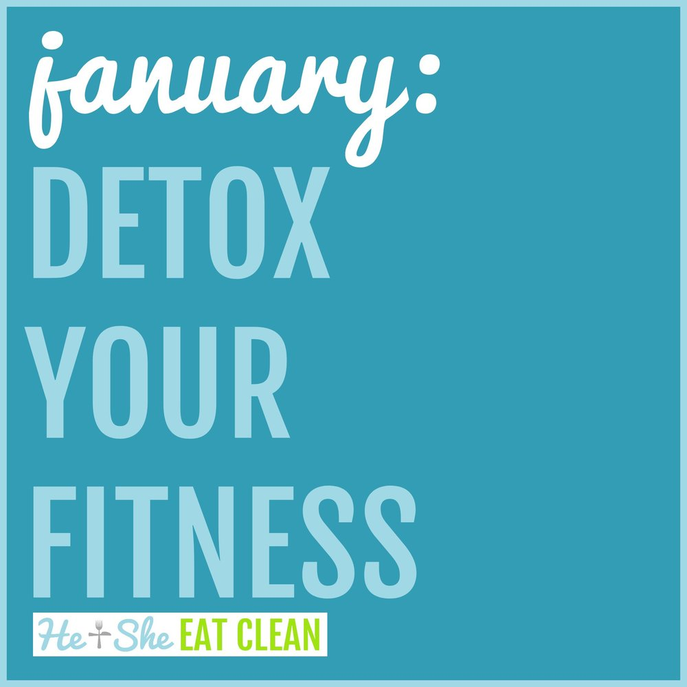Detox Your Life Challenge for January