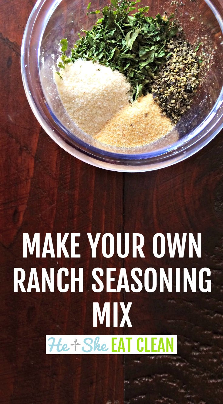 Make Your Own Ranch Seasoning Mix