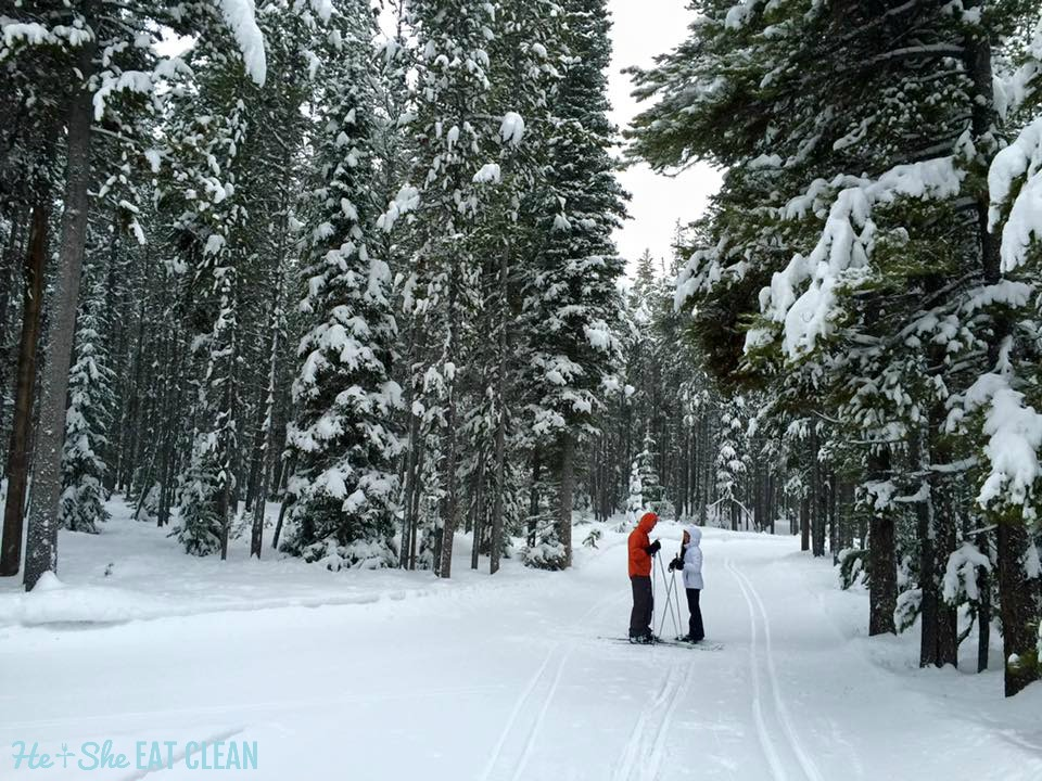 Cross Country Skiing in West Yellowstone, Montana