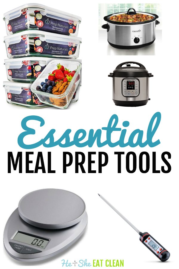 Essential Meal Prep Tools for Clean Eating Food Prep