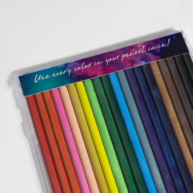Mini Woodless Coloring Pencils — Elan + LeafLet Publishing