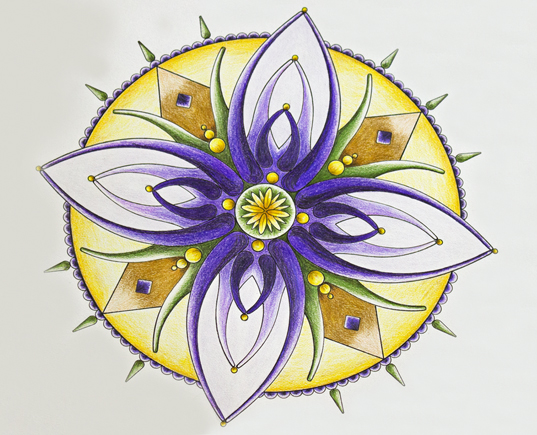 THE BEAUTIFUL & MYSTERIOUS MANDALA Graceful, yet structured, and intricate in design, the beautiful and mysterious mandala has become a creative obsession of mine. Discover how my dad's old drawing tools and a creative escape inspired me to create my very first mandala design.