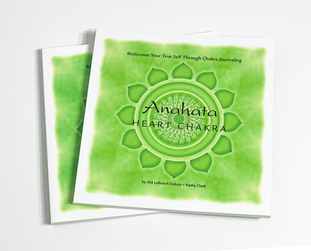 ANAHATA: HEART CHAKRA JOURNAL - $24 Exploring the mysterious energy center of Anahata, learn to live a compassionate life, and rediscover your true self through chakra journaling.