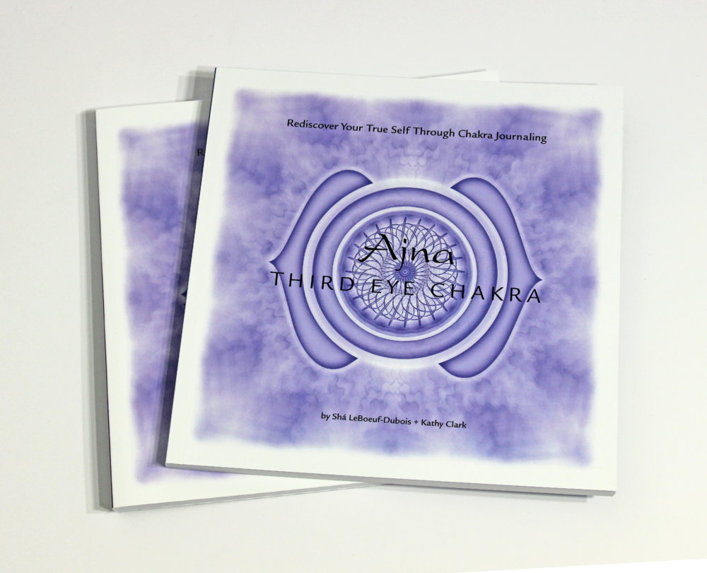 AJNA: THIRD EYE CHAKRA JOURNAL - $24 Exploring the mysterious energy center of Ajna, learn to live a intuitive life, and rediscover your true self through chakra journaling.