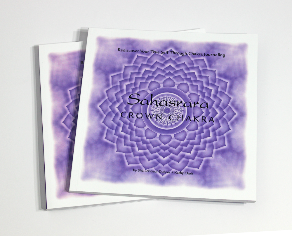 SAHASRARA: CROWN  CHAKRA JOURNAL - $24  Exploring the mysterious energy center of Sahasrara, learn to live a purposeful life, and rediscover your true self through chakra journaling.