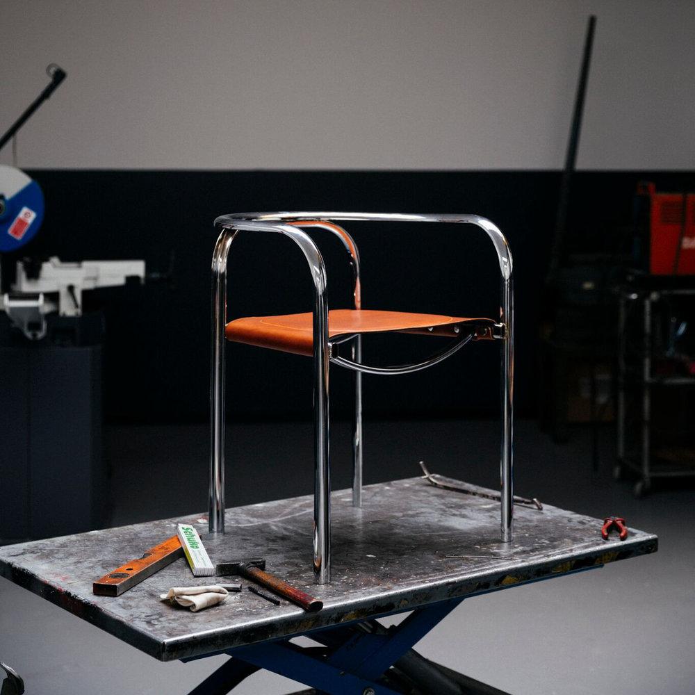 Im Bild: SPLIT chair von  TECTA