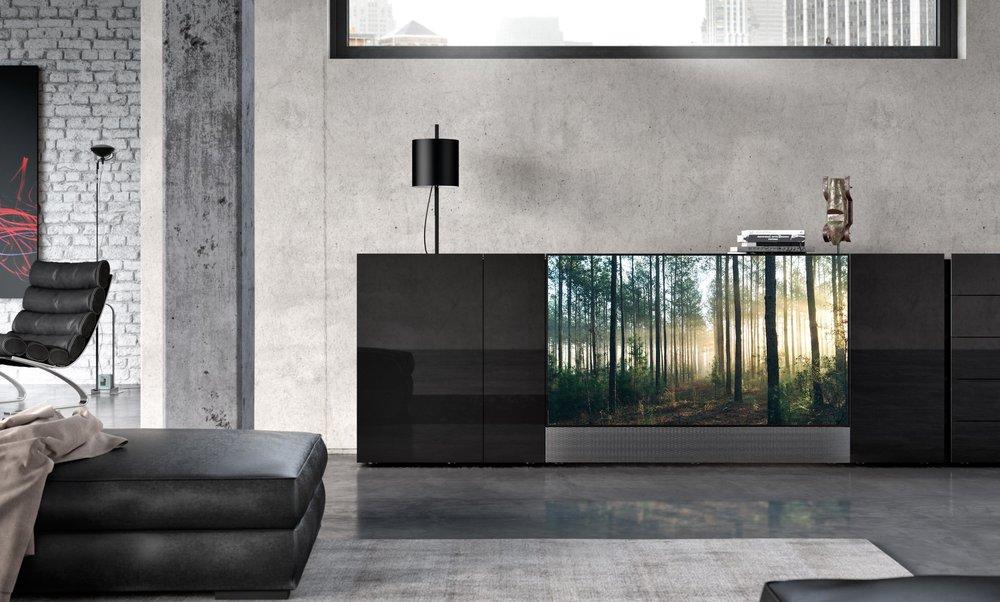 Sideboard JOREL mit integriertem Fernseher