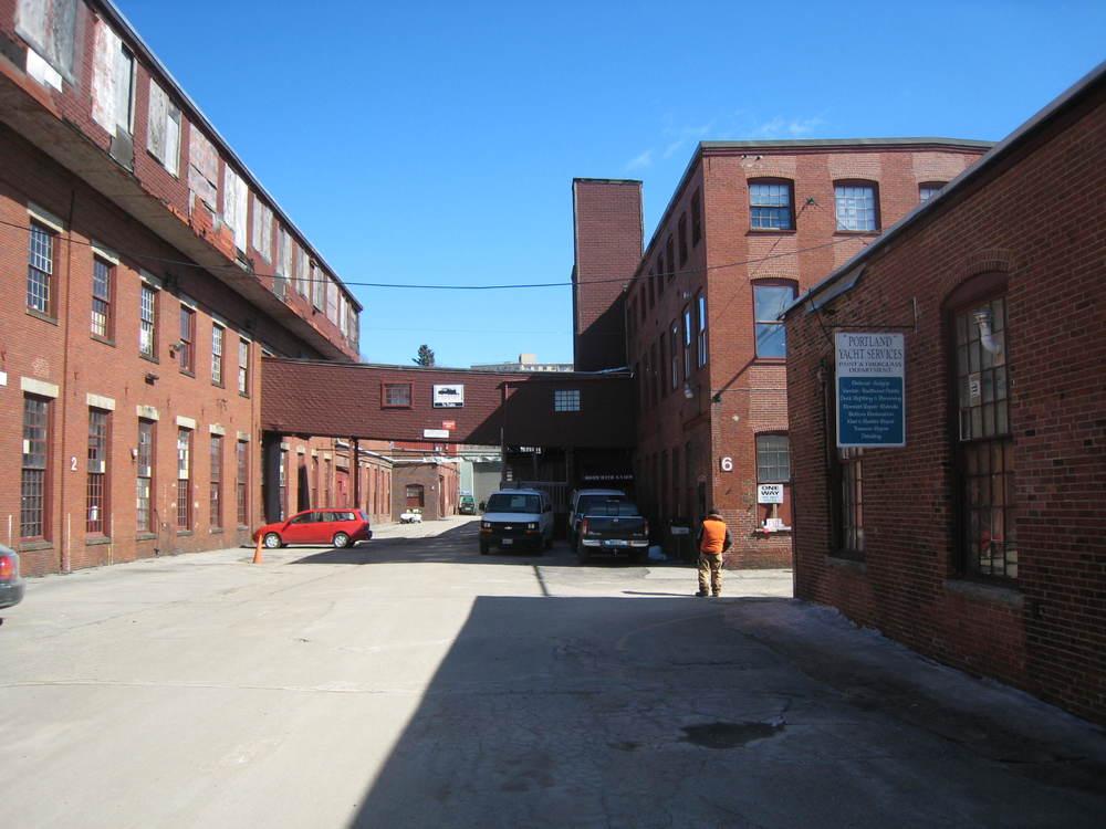 Portland Co - Between Buildings 2 and 6 - 2014.JPG