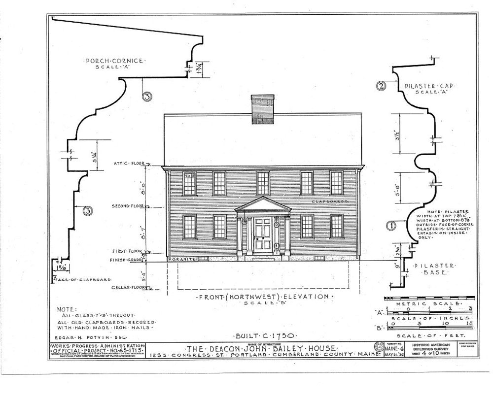 HABS Illustration, Bailey House, 1934.jpg
