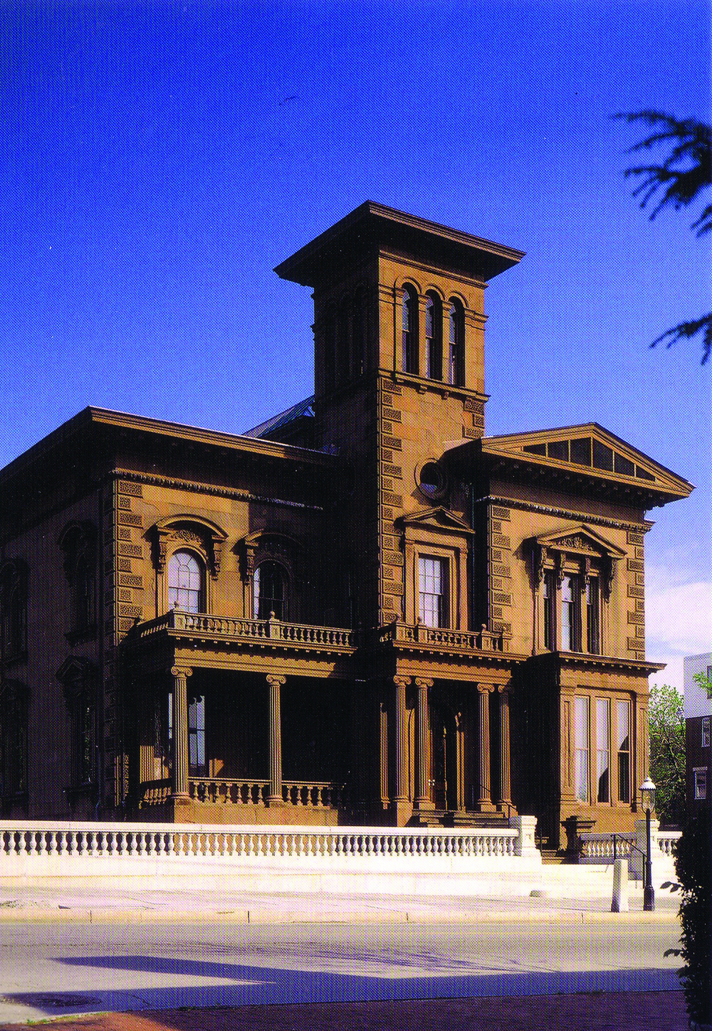 Victoria Mansion, Danforth Street, Portland