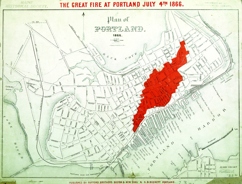 Map of Fire's Extent