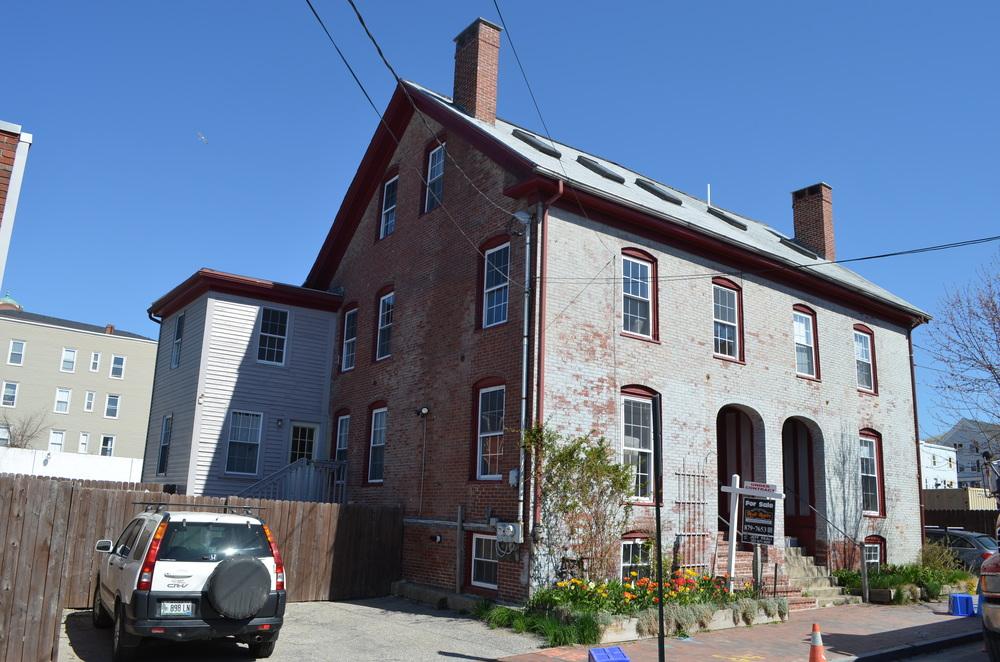 Joseph Barbour House, 123-125 Newbury Street -c1846.