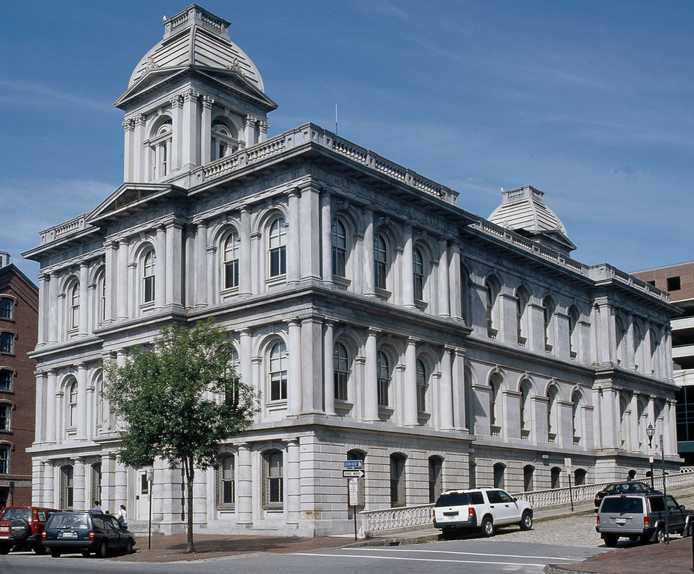 US Custom House Restoration, 2014
