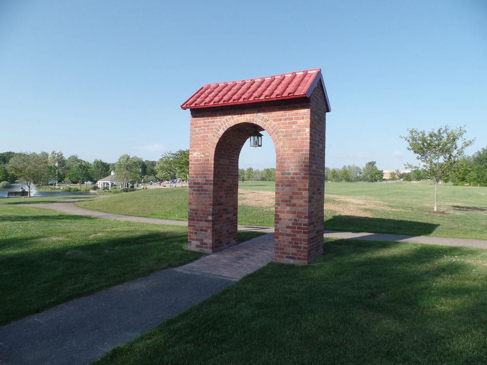 Danish Village Arch