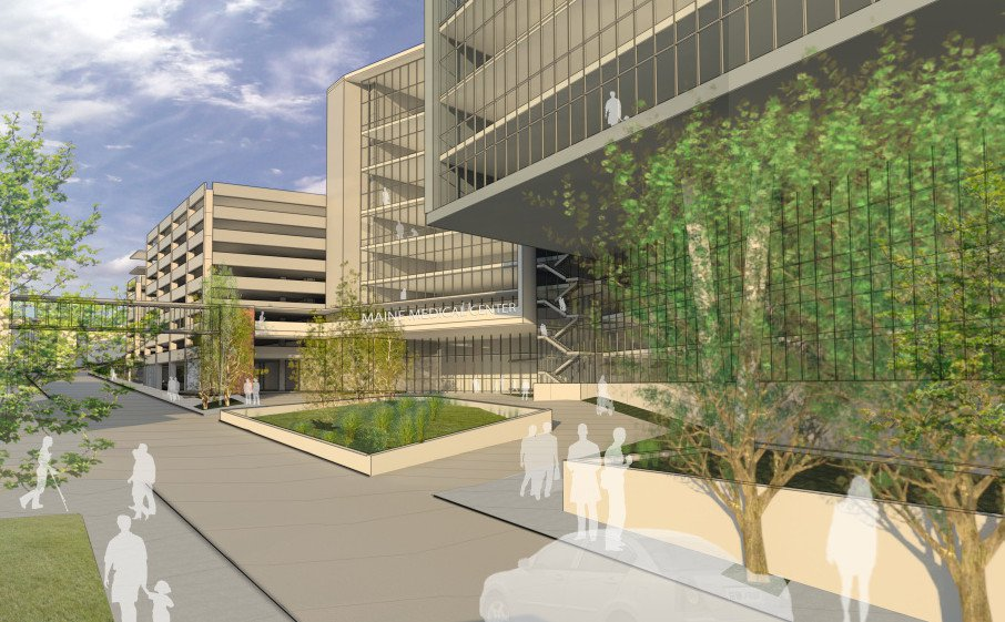 Proposed new MMC entrance on Congress Street