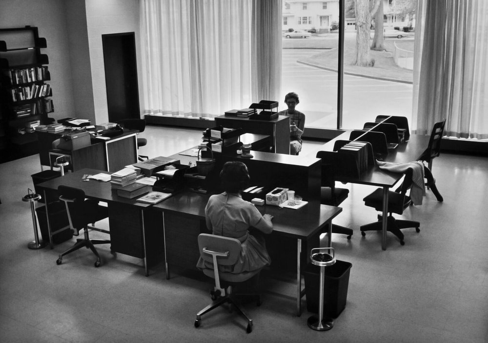 SouthPortland_Broadway_482_PublicLibary_1960s_work_stations_CHRISTOPHER_GRASSE.jpg